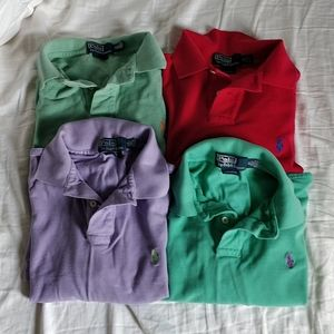 (4) Ralph Lauren Polo - Custom Fit - Medium